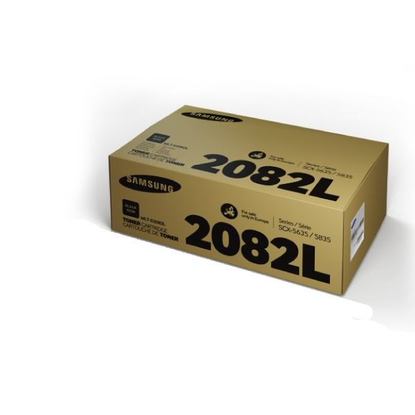 Samsung 2082L Black Toner Cartridge - High Capacity MLT-D2082L/ELS