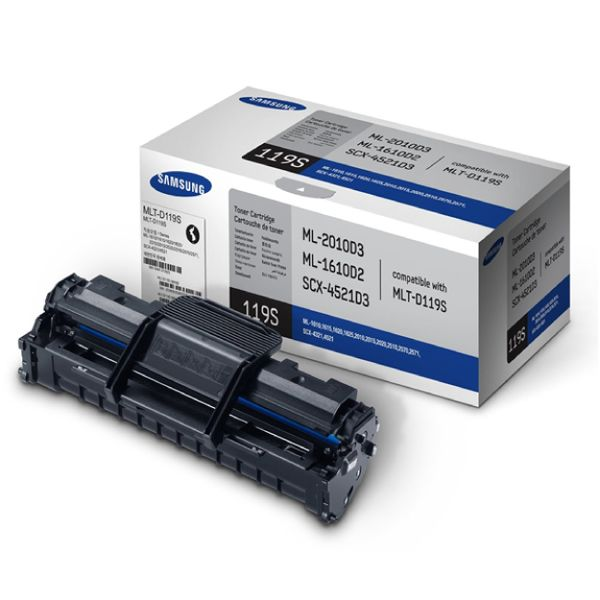 Samsung MLT-D119S Black Toner Cartridge SU863A