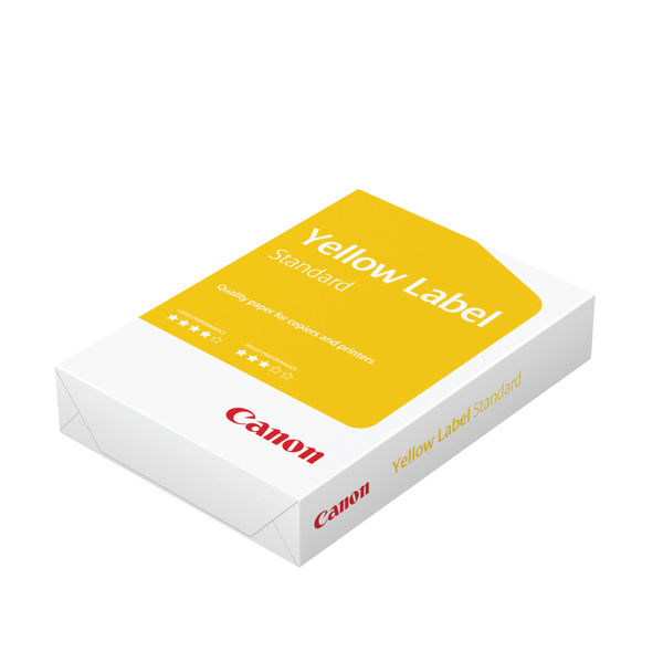 Canon Yellow Label Standard White A4 Paper, 80gsm - 2500 Sheets / 1Box- 97003515