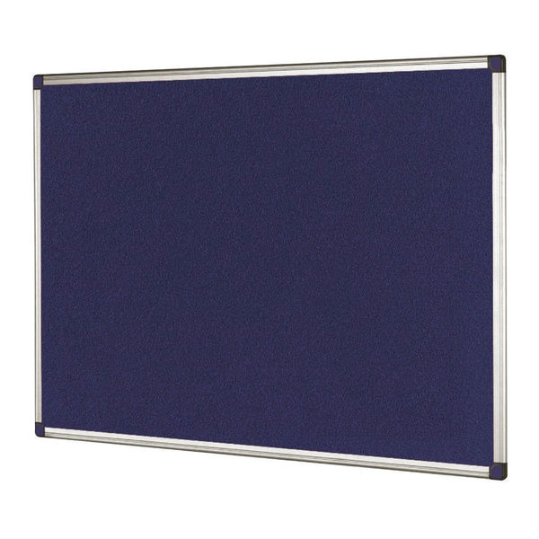 Bi-Office Blue 1800 x 1200mm Feltboard - FA2743170