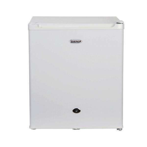 Igenix 47 Litre Counter Top Fridge with Lock White IG3711