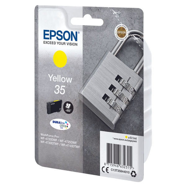 Epson 35 Yellow Ink Cartridge - C13T35844010