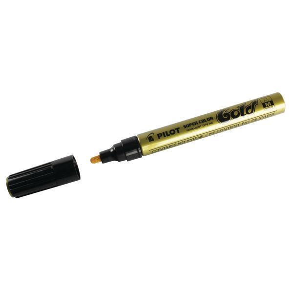 Pilot Gold Medium Permanent Markers, Pack of 12 - SCGM