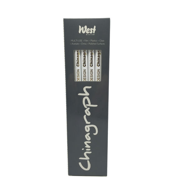 Royal Sovereign Chinagraph White Marking Pencils, Pack of 12 - RS523055