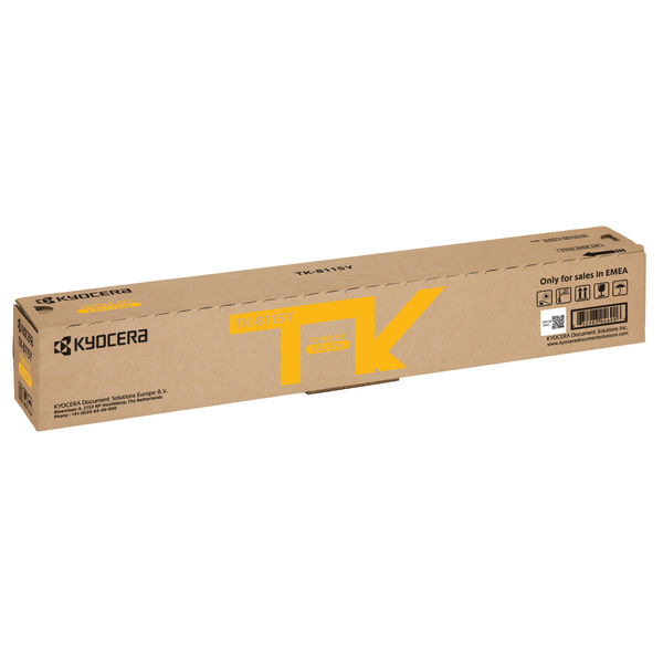 Kyocera Toner Kit for ECOSYS M8124cidn and M8130cidn Yellow TK8115Y