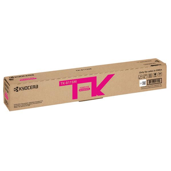 Kyocera Toner Kit for ECOSYS M8124cidn and M8130cidn Magenta TK8115M
