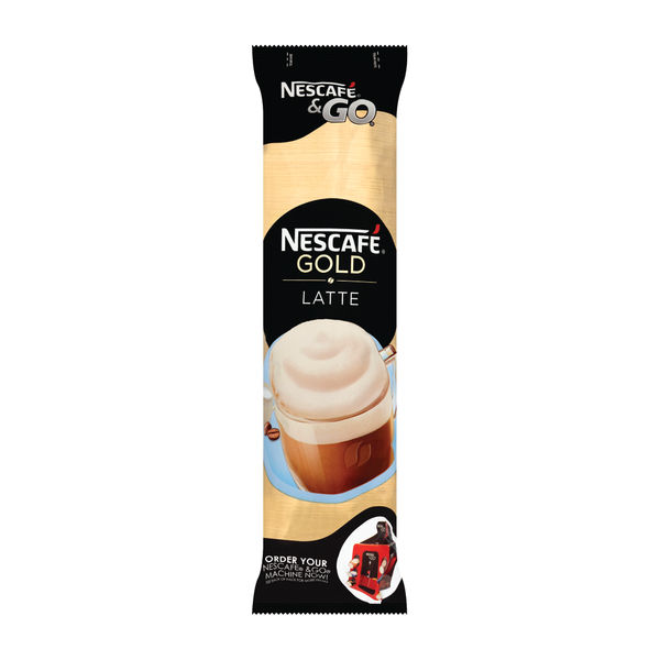 Nescafe and Go Gold Latte Cups, Pack of 8 - 12278742