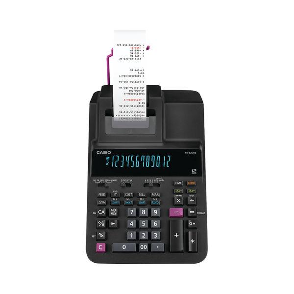 Casio FR-620TEC Printing Calculator, 12 Digit Display - FR-620TEC-E-EH