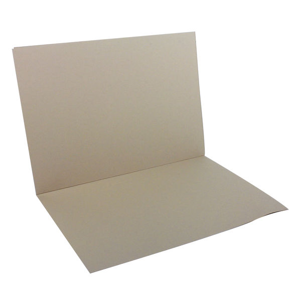Guildhall Buff Foolscap Square Cut Folders 315gsm - Pack of 100 - FS315-BUFF