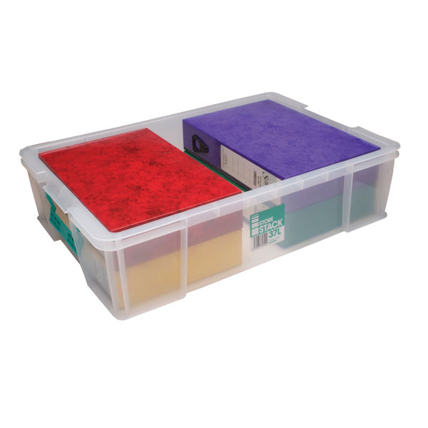 StoreStack 37L Storage Box with Lid - RB75899