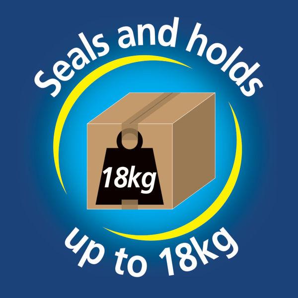 Sellotape Buff Case Sealing Tape – (Pack of 6 Rolls) – 1447026