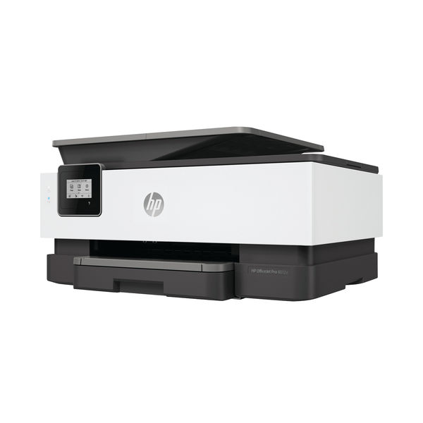 HP OfficeJet 8012e All-in-One Colour Printer with6 months of Instant Ink with HP PLUS