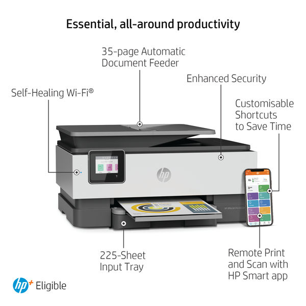 HP OfficeJet Pro 8022e All-in-One Colour Printer