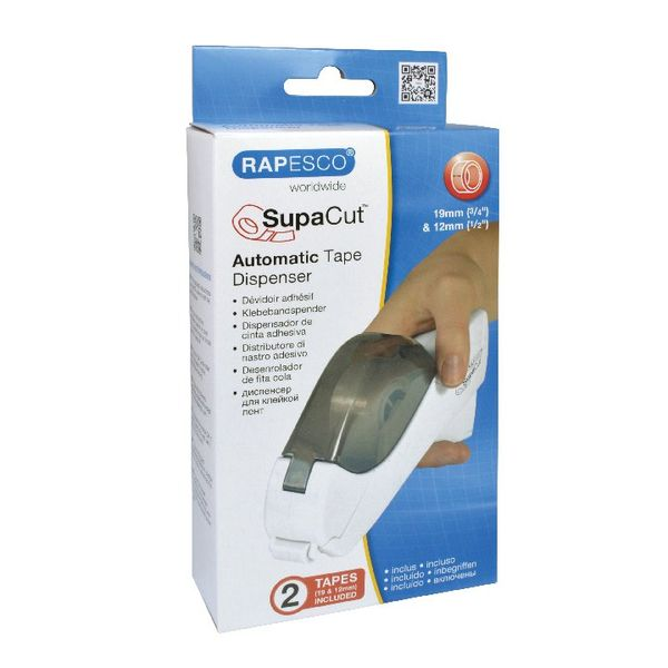 Rapesco SupaCut Tape Dispenser with Two Tapes 1445