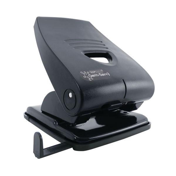 Rapesco 835-P Black Lock Down Perforator | PF835PB2