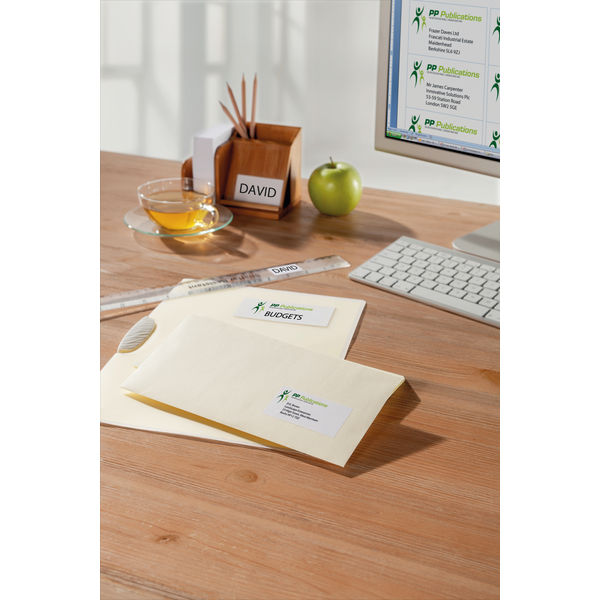 Avery Removable Labels 12 Per Sheet White (Pack of 300) L4743REV-25