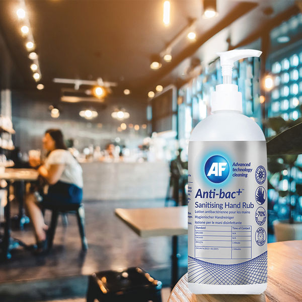 Anti-Bac Sanitising Hand Rub Gel 500ml (Pack of 6) - ABHHR500