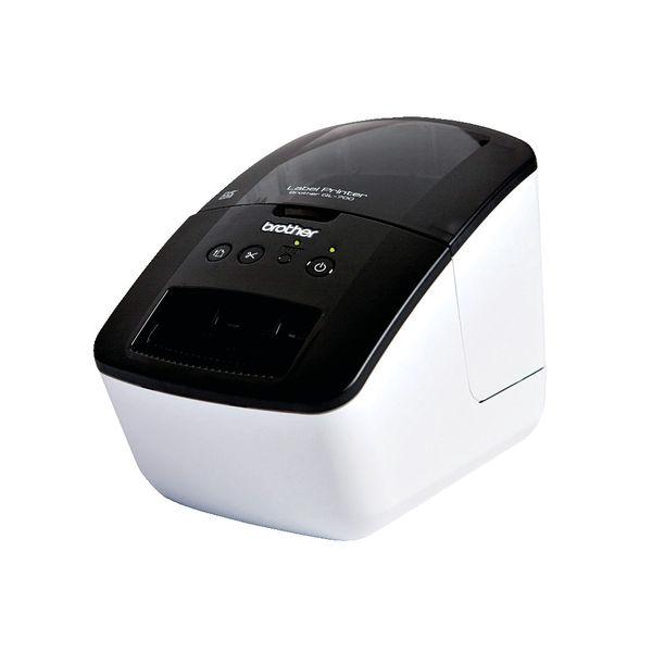 Brother QL-700 High-Speed Label Printer Black QL700ZU1