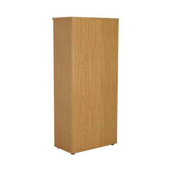 First 1800mm Nova Oak Wooden Bookcase