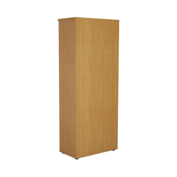 First 2000mm Nova Oak Wooden Bookcase