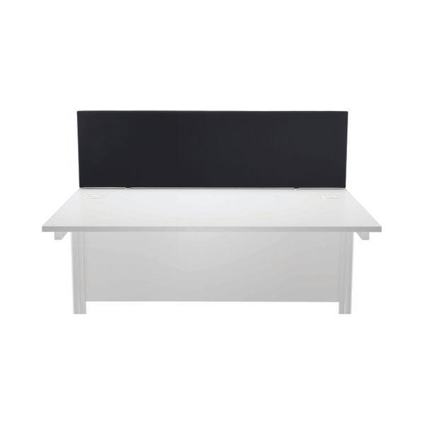 First 1400mm Black Desk Mounted Screen