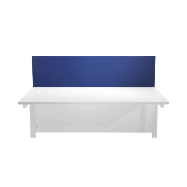 First 1600mm Royal Blue Desk Mounted Screen