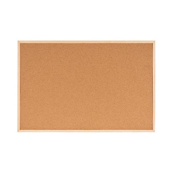 Bi-Office Double-Sided Board Cork and Felt 600x900mm FB0710010