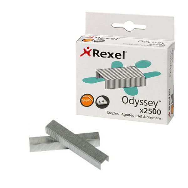 Rexel Odyssey Heavy Duty Staples, Pack of 2500 - 2100050