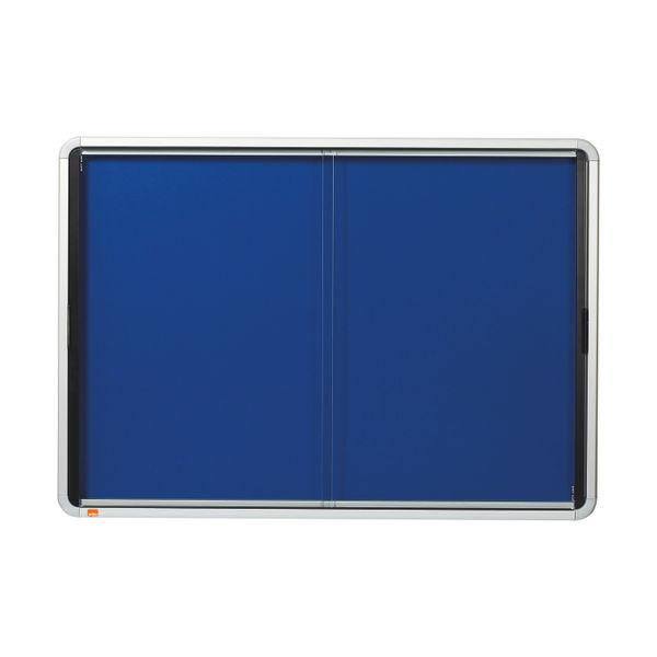 Nobo Internal Glazed Case with Sliding Door 8 x A4 1902565