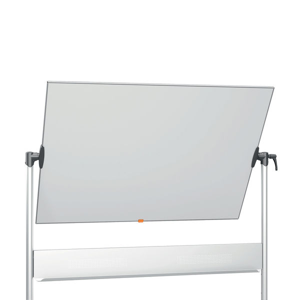 Nobo Enamel Magnetic Mobile Whiteboard 1200 x 900mm 1901033