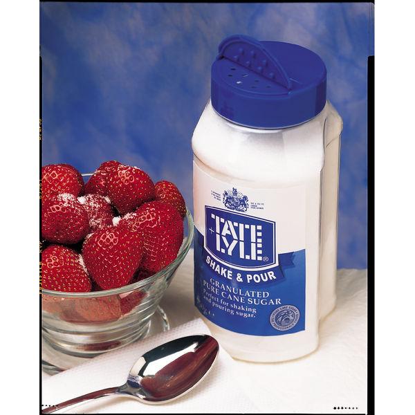 Tate & Lyle 750g White Shake & Pour Sugar Dispenser - A03907
