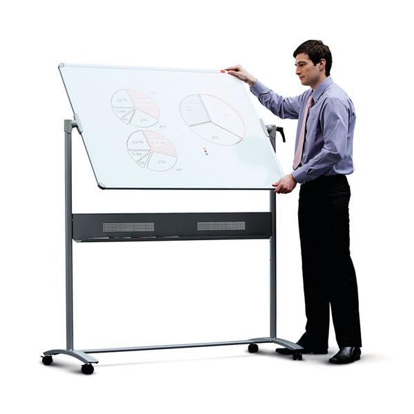 Nobo Combination Felt/Steel Mobile Board 1200 x 900mm 1901043