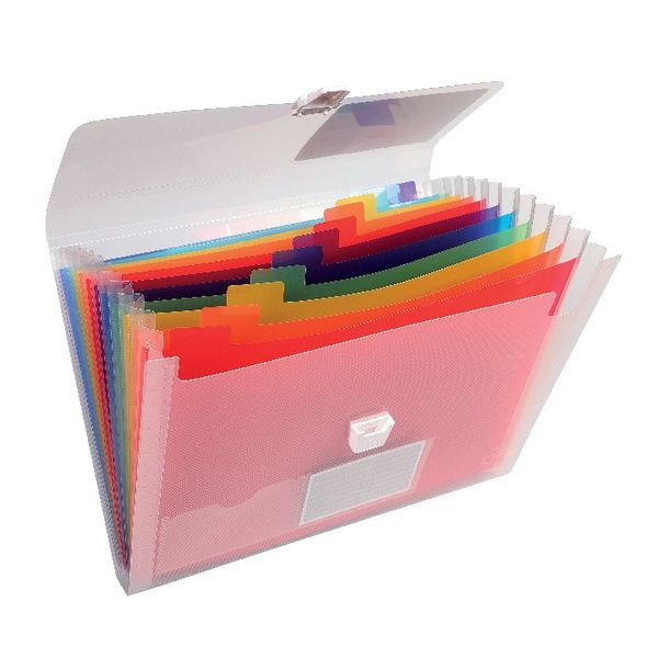Exacompta Assorted 13 Pocket Expanding File | 42159Z