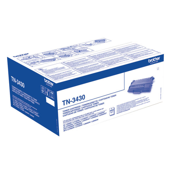 Brother TN3430 Black Toner Cartridge - TN3430