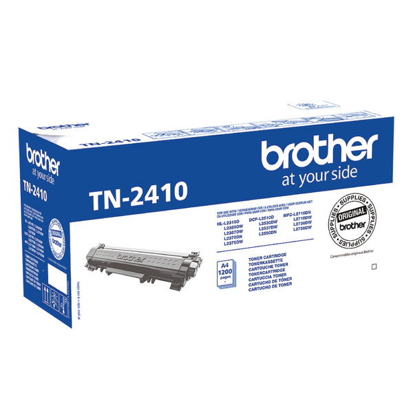 Brother TN2410 Black Toner Cartridge - TN2410