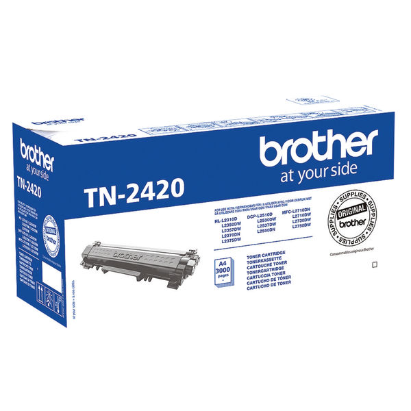 Brother TN2420 Black Toner Cartridge - TN2420