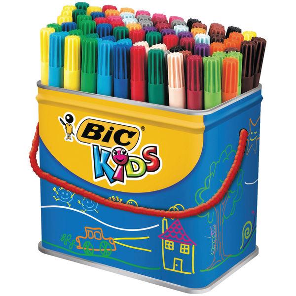 BIC Kids Visa Fine Felt Tip Pens, Pack of 288 - 897099