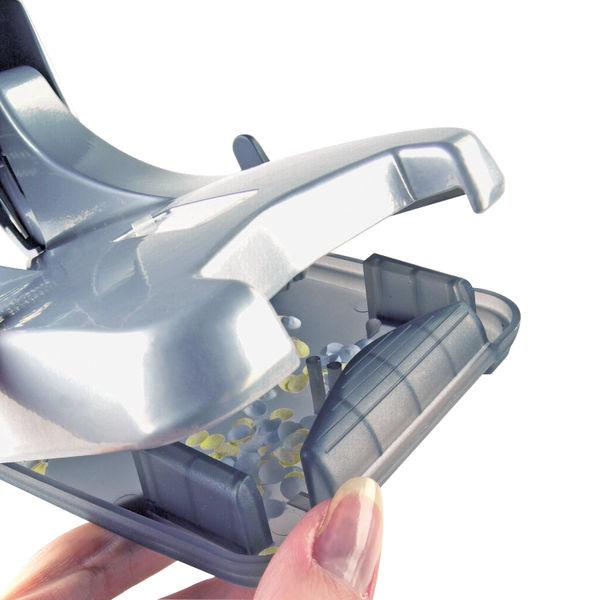 Rapesco Extra Heavy Duty Silver 2-Hole Punch Zero-65 - 0732