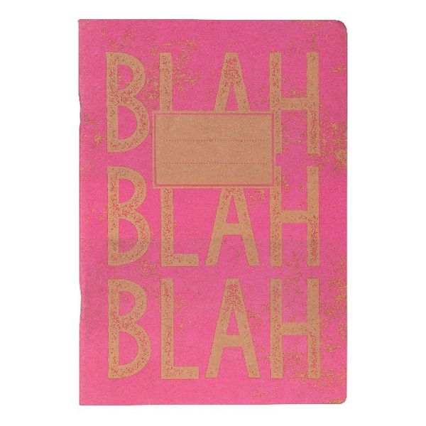Go Stationery Kraft Typo Pink Exercise Book - 4EBC409