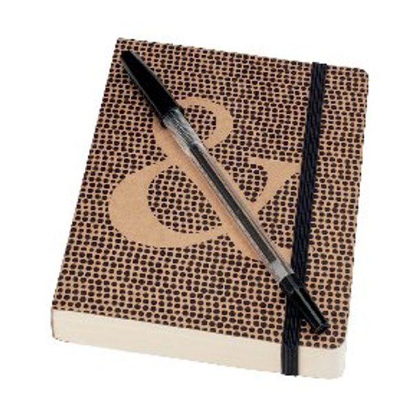 Go Stationery A6 Kraft Typo Notebook – 6PNC409
