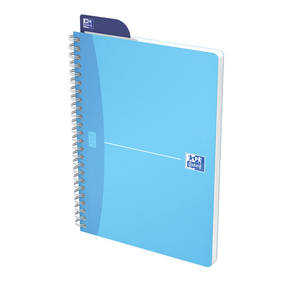 Oxford Office A5 Wirebound Notebook, Assorted - Pack of 5 - 100104780