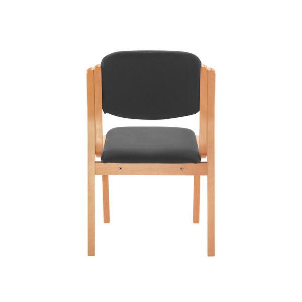 Jemini Charcoal Wood Frame Side Chair