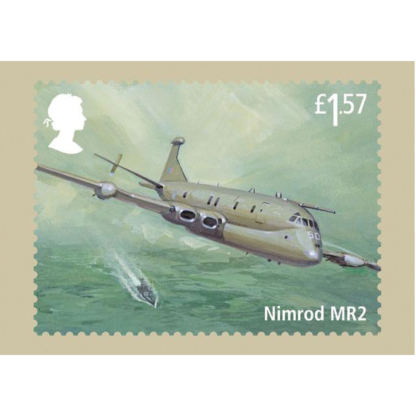 The RAF Centenary Stamp Cards - AQ260