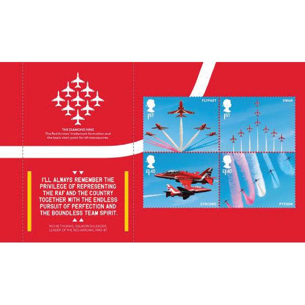 The RAF Centenary Prestige Stamp Book - YB076