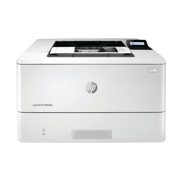 HP LaserJet Pro M404dw Printer White W1A56A