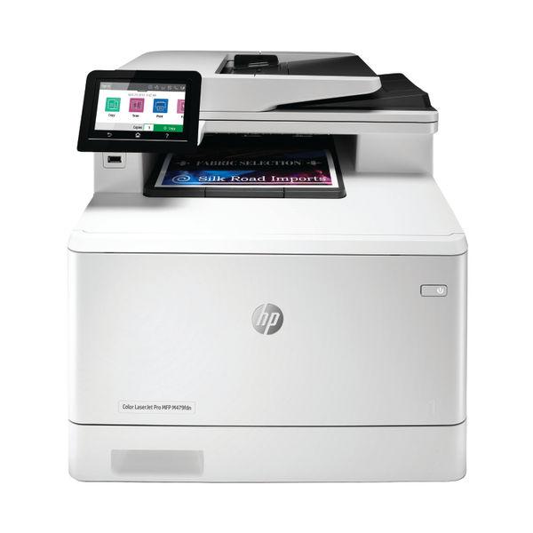 HP Color LaserJet Pro M479fdn Multifunction Printer White W1A79A