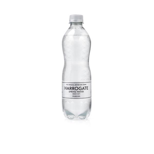 Harrogate 500ml Sparkling Water Bottles, Pack of 24 - P500242C