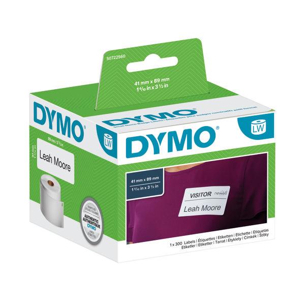DYMO LBL WTR NME BDGE LBLS WHT 300