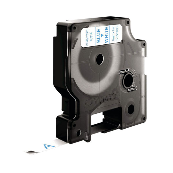 Dymo 1000/5000 Tape 9mm x 7m Blue/White | 40914