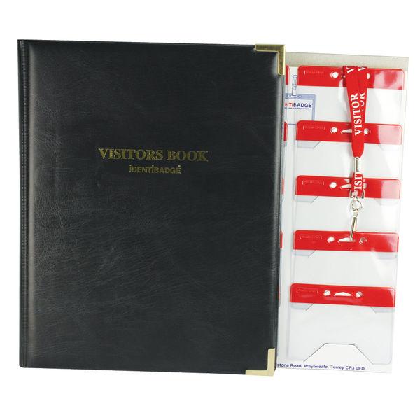 Identibadge Visitor Book/Lanyard IBS SC4 SP50220